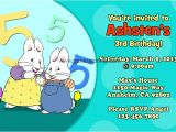Max and Ruby Birthday Party Invitations Max and Ruby Invitations General Prints