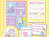 Max and Ruby Birthday Party Invitations Max and Ruby Party Printable Kit Custom Birthday