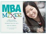 Mba Graduation Party Invitations Graduation Announcements Mba Mixer at Minted Com
