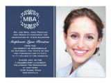 Mba Graduation Party Invitations Laurel Branches Photo Graduation Invitation Anno Zazzle