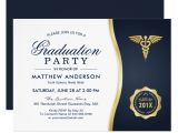 Medical School Graduation Party Invitations Personalized Medical School Graduation Invitations