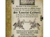 Medieval Party Invitations Medieval Renaissance Birthday Wedding Invitation Zazzle Com