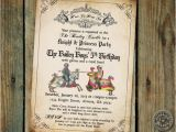 Medieval Party Invitations Medieval Times Printable Invitation for Renaissance