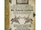 Medieval Wedding Invitations Wording Medieval Renaissance Birthday Wedding Invitation Zazzle Com