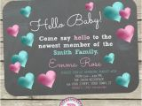 Meet the Baby Shower Invitations Hello Baby Invitations for A Meet the Baby Party