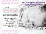 Meet the Baby Shower Invitations Raising Hills Freebie Meet the Baby Baby Shower Invite