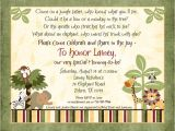 Meijer Baby Shower Invitations Jungle Safari Baby Shower Invitations