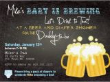 Mens Baby Shower Invitations Beer and Diaper Shower Invitation Boy Man Shower Man