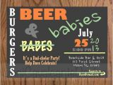 Mens Baby Shower Invitations Beer and Diapers 17 Man Shower Invitations