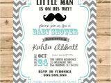 Mens Baby Shower Invitations Little Man Mustache Baby Shower Invitation Little Man