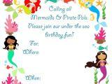 Mermaid Birthday Invitations Free Printable Pickled Okra by Charlie Mermaid Bithday Party Invitations