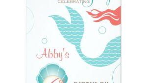 Mermaid Party Invitation Template Mermaid Party Birthday Invitations Zazzle Com Au