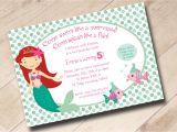 Mermaid Pool Party Invitation Wording 7 Plain Little Mermaid Party Invitation Wording Braesd Com