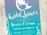 Mermaid themed Bridal Shower Invitations Best 25 Mermaid Bridal Showers Ideas On Pinterest
