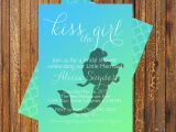 Mermaid themed Bridal Shower Invitations Little Mermaid Bridal Shower Invitation by Muniqueprints