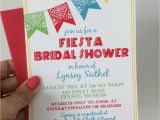 Mexican themed Bridal Shower Invitations Fiesta Bridal Shower Invitations Mexican Wedding Shower