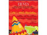Mexican themed Graduation Party Invitations Fiesta Fun Birthday Invitations Paperstyle