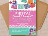 Mexican themed Party Invitations Mexican Fiesta themed 21st Birthday Party Invitation From
