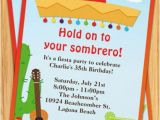 Mexican themed Party Invitations Mexican themed Party Invitations