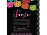 Mexican themed Party Invitations Papel Picado Mexican themed Party Rehearsal Dinner