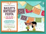 Mexican themed Party Invitations Print Yourself Kid S Mexican Fiesta Invitation by