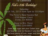Miami themed Party Invitations Havana Nights Invitation Cuban Party Cuba Miami Tropical