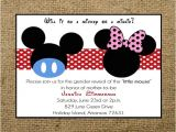 Mickey and Minnie Mouse Baby Shower Invitations Unavailable Listing On Etsy