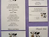 Mickey and Minnie Wedding Invitations 150 Personalized Custom Mickey and Minnie Disney Wedding