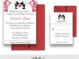 Mickey and Minnie Wedding Invitations Mickey and Minnie Wedding Invitations Disney Weddings