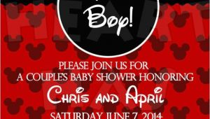 Mickey Mouse Baby Shower Invitations for A Boy 25 Best Ideas About Mickey Mouse Baby Shower On Pinterest
