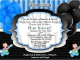 Mickey Mouse Baby Shower Invitations for A Boy Mickey Mouse Blue or Red Baby Boy Shower Invitation Diy