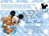 Mickey Mouse Baby Shower Invitations Mickey Mouse Baby Shower Invitation by Eqpartyinvitations
