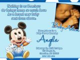 Mickey Mouse Baby Shower Invitations Mickey Mouse Baby Shower Invitations Baby by