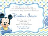 Mickey Mouse Baby Shower Invitations Mickey Mouse Invitation Templates – 26 Free Psd Vector