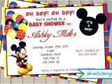 Mickey Mouse Baby Shower Invitations Party City Mickey Mouse Baby Shower Invitations Baby Mickey Mouse