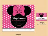 Mickey Mouse Baby Shower Invitations Walmart 10 Best Minnie Mouse Baby Shower Invitations Walmart