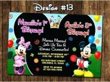 Mickey Mouse Baby Shower Invitations Walmart Mickey Mouse Invitations Mickey Mouse Invitation for Free