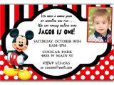 Mickey Mouse Baptism Invitations Mickey Mouse Christening Invitation – orderecigsjuicefo