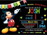 Mickey Mouse Birthday Invitation Template Birthday Invitation Template 44 Free Word Pdf Psd Ai