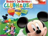 Mickey Mouse Clubhouse Custom Birthday Invitations Exclusive Mickey Mouse Clubhouse Birthday Invitations