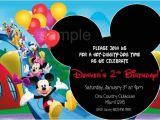 Mickey Mouse Clubhouse Party Invitations Free Template 15 Mickey Mouse Birthday Invitation Templates Psd