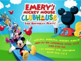 Mickey Mouse Clubhouse Party Invitations Free Template Free Mickey Mouse Clubhouse Photo Birthday Invitations