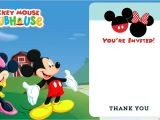Mickey Mouse Clubhouse Party Invitations Free Template Mickey Mouse Clubhouse Invitation Free Template