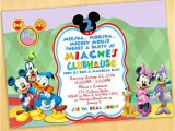 Mickey Mouse Clubhouse Party Invitations Free Template Mickey Mouse Invitation Template Free Download Joy