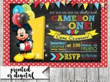 Mickey Mouse Clubhouse Party Invitations Free Template Mickey Mouse Invitation Templates 29 Free Psd Vector