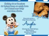 Mickey Mouse Invitations Baby Shower Mickey Mouse Baby Shower Invitations Baby Mickey Mouse Baby