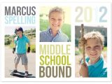 Middle School Graduation Invitations Hats Off Graduation Announcement Special Prize Winners Julep
