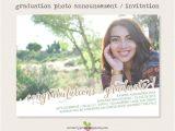 Middle School Graduation Invitations Printable Photo Graduation Invitation Announcement 2015