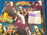 Mighty Morphin Power Ranger Birthday Invitations Mighty Morphin Power Ranger Gift Wrap New Any Occasion