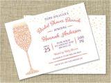 Mimosa themed Bridal Shower Invitations Items Similar to Bridal Shower Brunch Bridal Shower